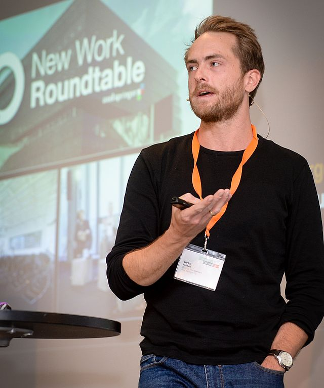 Sven Rebbert, Change Management, Axel Springer SE, Berlin