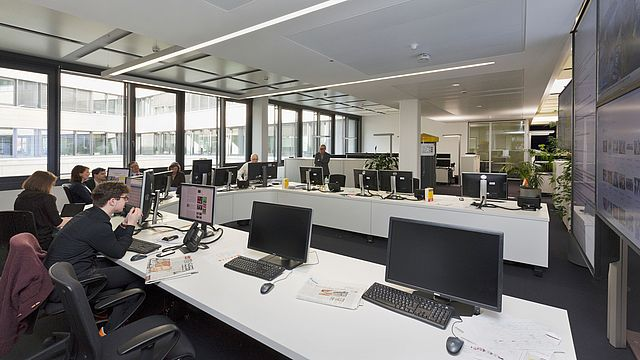Der neue Newsroom © Andreas Bormann